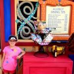 Disney's Animal Kingdom Allergy Kiosk
