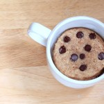 Cookie Dough Mug Cake -- Vegan