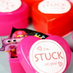 Sticker Valentines - Allergy Friendly Non Food Idea