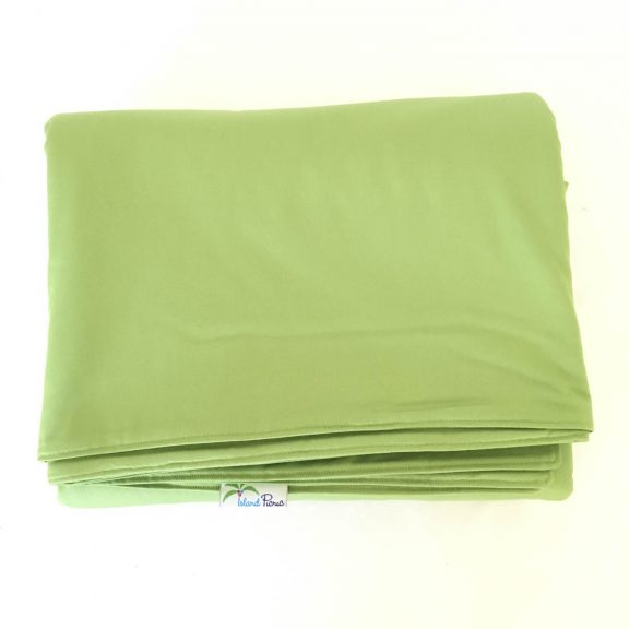 Organic Cotton Picnic Blanket -- Avocado Green