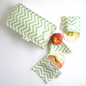 Organic Cotton Lunch Bag Set