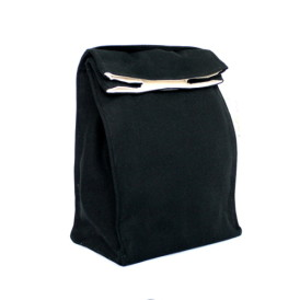 Organic Lunch Bag -- Black2