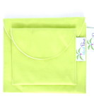 Organic Sandwich Snack Bags - Lime Green 2b