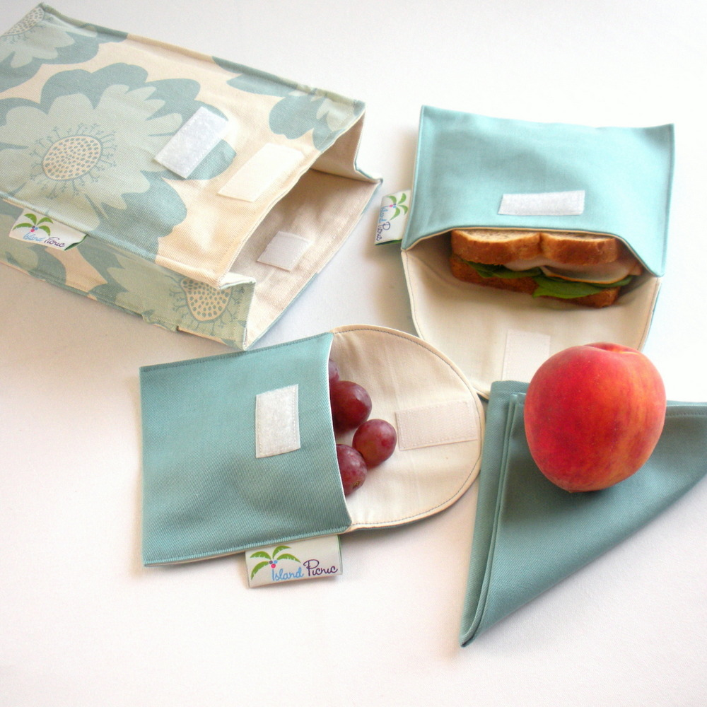 Organic Cotton Lunch Set by Island Picnic