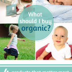 What should I buy organic?