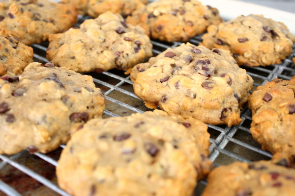 Banana Oatmeal Breakfast Cookies 1