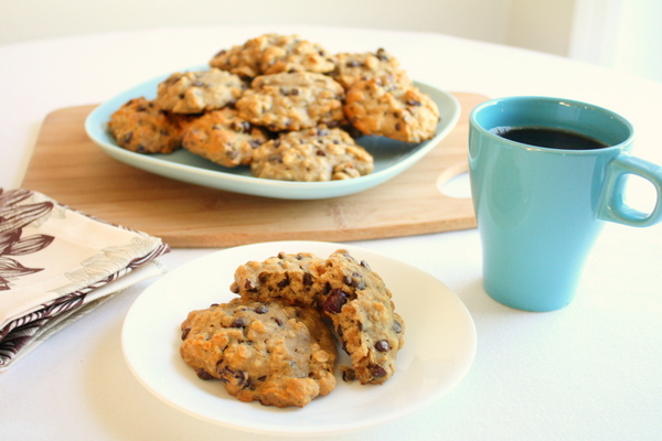 Banana Oatmeal Breakfast Cookies 4