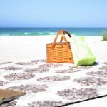 Organic Picnic Blanket -Evelyn & Janette