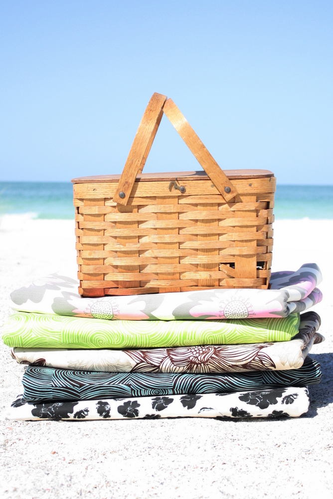 Organic Cotton Picnic Blankets by Island Picnic