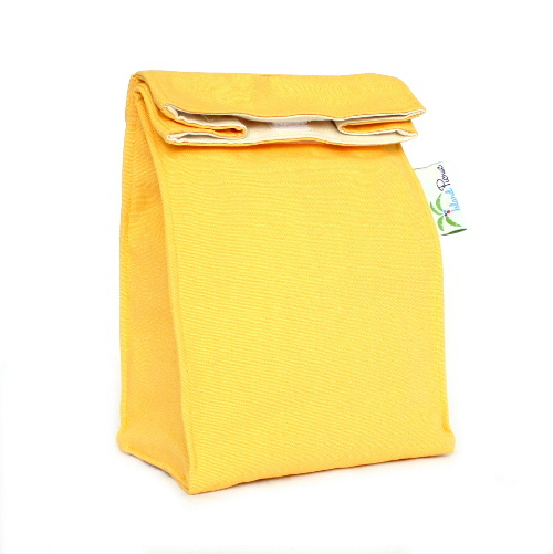 Organic Lunch Bag - Yellow2