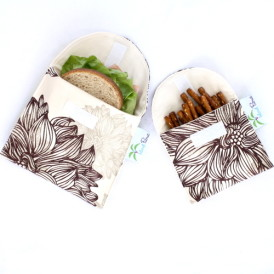 Organic Sandwich Snack Bags - Evelyn and Janette