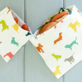OrganicSandwichSnackBagsPuppyDogs