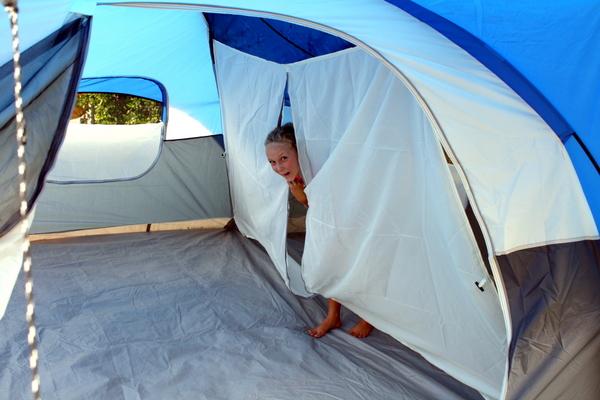 Backyard Camping - Room Divider