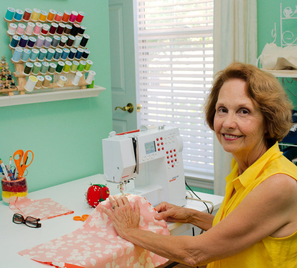 Mom's sewing room -- Island Picnic Made in USA