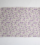 Organic Cotton Placemat -- Purple Floral 5