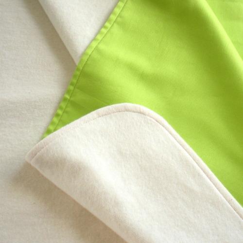 Organic Fleece-backed Blanket