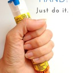 EpiPen in hand? Just do it.
