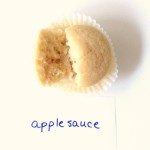 Applesauce as an egg substitute in baking