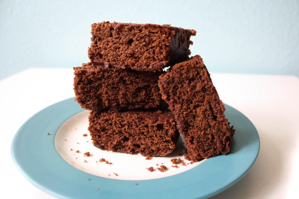 Mouthwatering Vegan Brownies -- milk-free, egg-free, nut-free