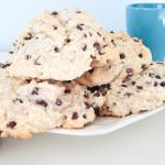 Big & Fluffy Chocolate Chip Scones - Dairy-free