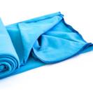 Lightweight Organic Cotton Swaddle Blanket -- Bright Blue