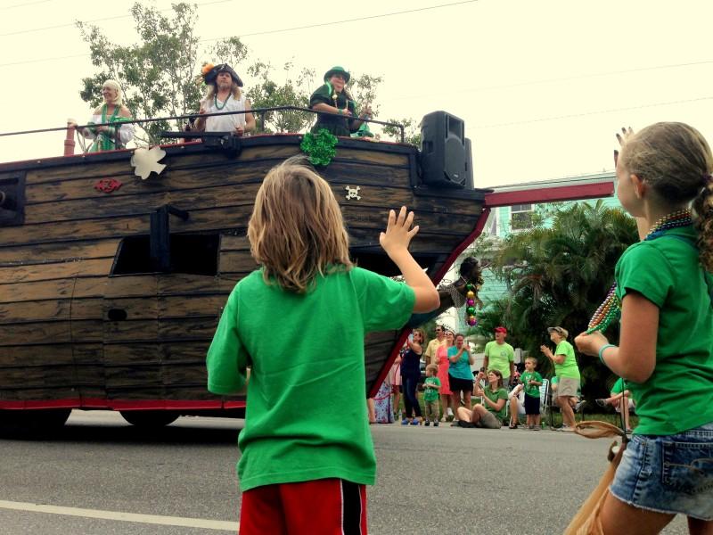 Anna Maria Island St. Patrick's Day Parade 2016