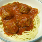 Dairy and Egg Free Spaghetti and Meatballs