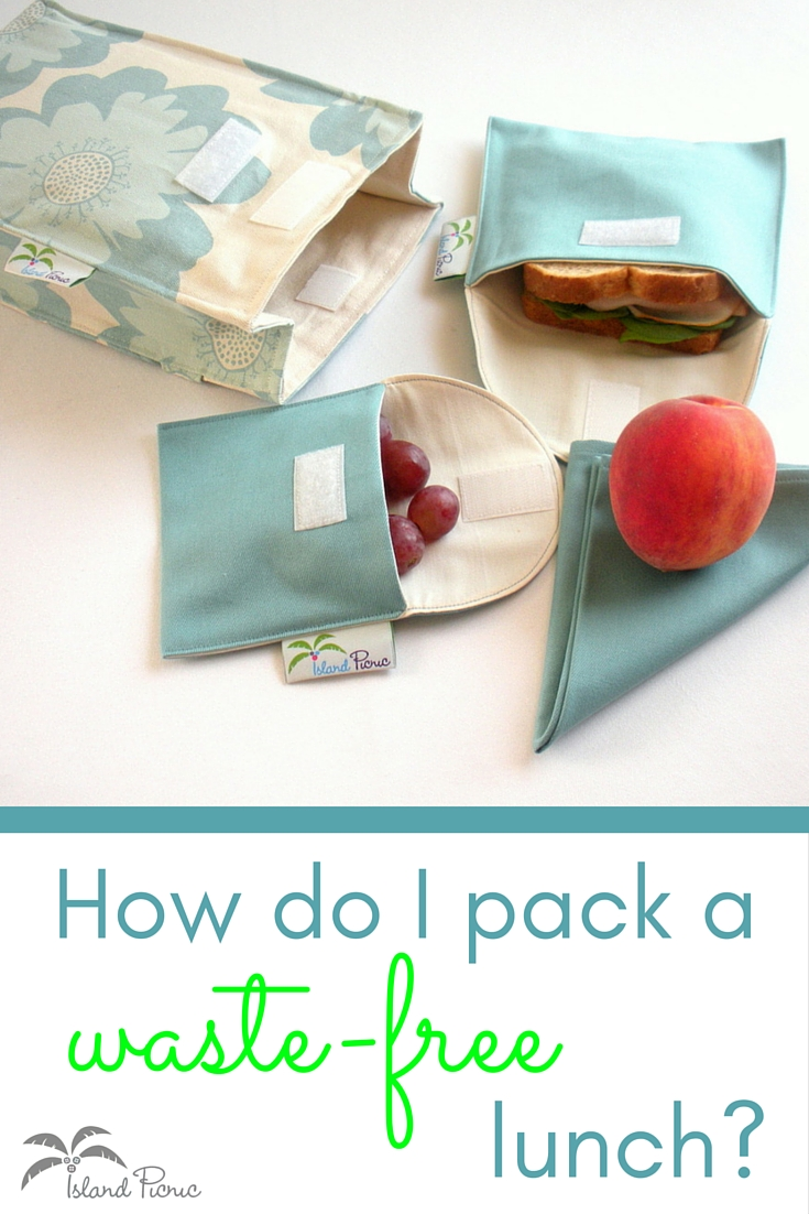 How do I pack a waste-free lunch?