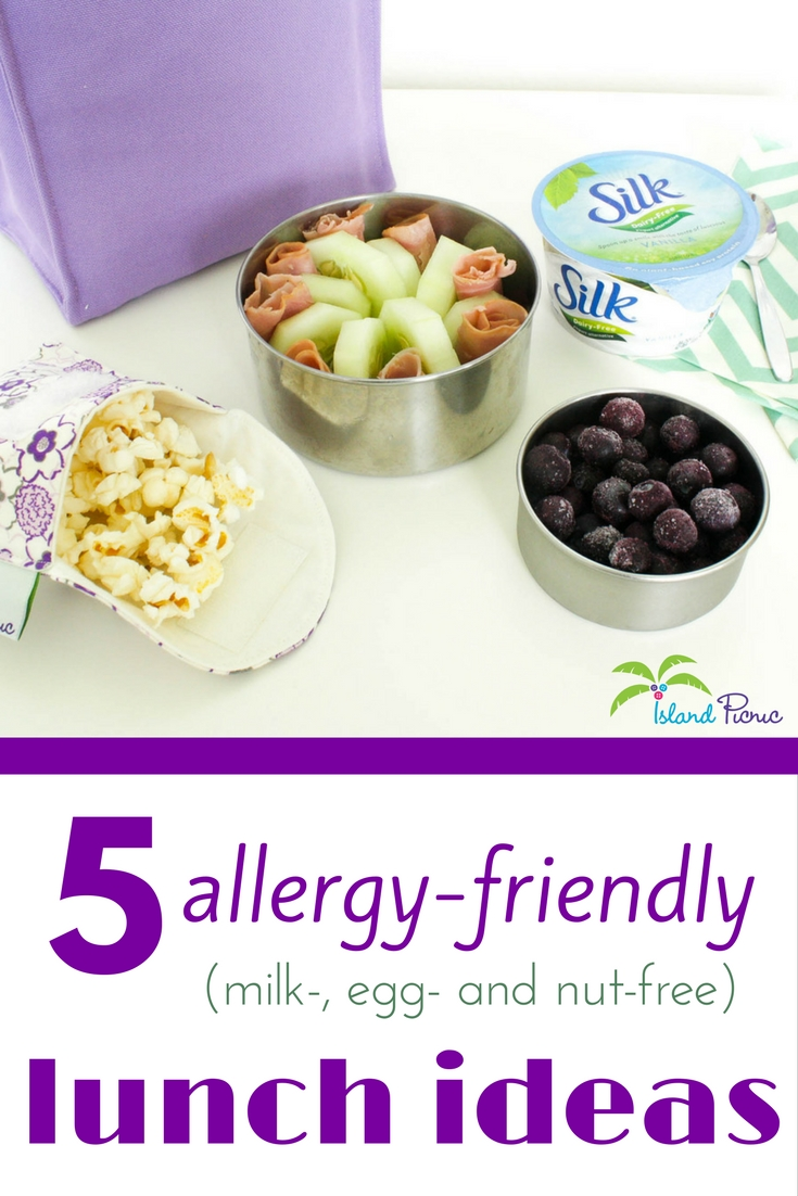 5 allergy-friendly lunch ideas