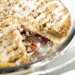Vegan Raspberry Coffee Cake