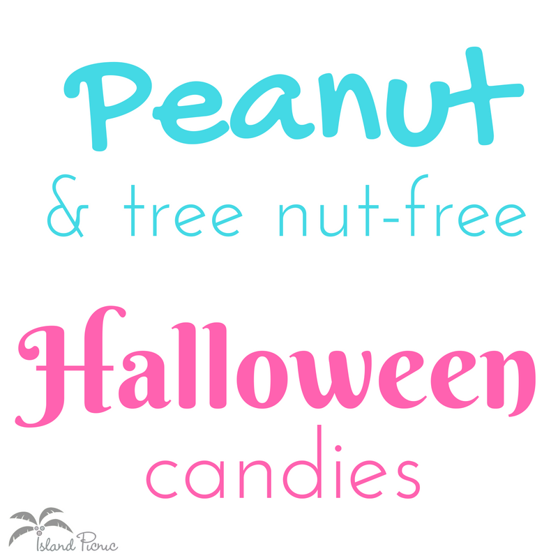 Nut-free Halloween Candy List