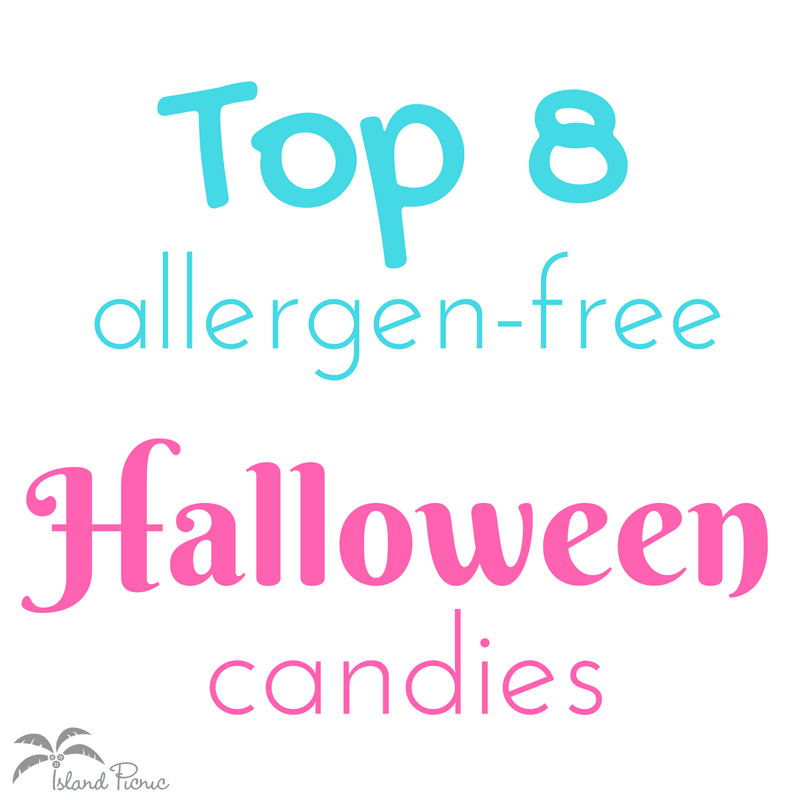 Top 8 Allergen Free Halloween Candy List