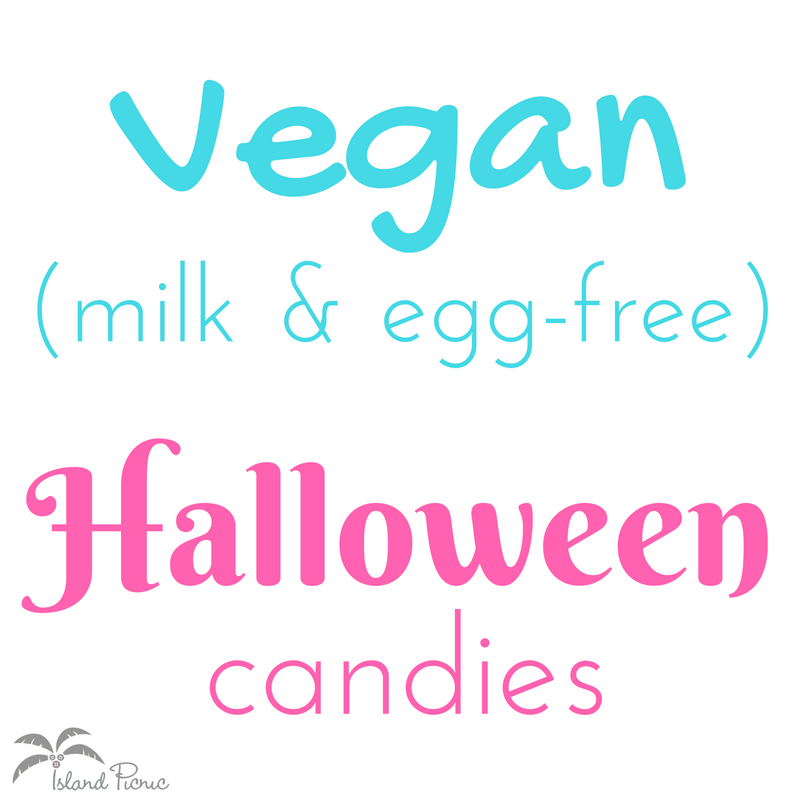Vegan Halloween Candy List