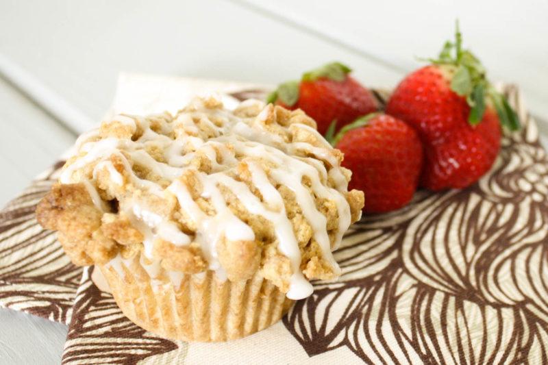 Vegan Coffee Cake Muffins