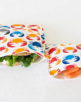 Crabs Organic Sandwich & Snack Bags