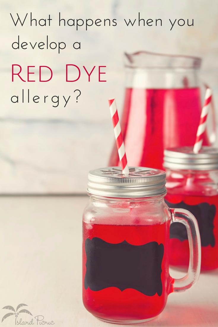 food dye allergy   Food